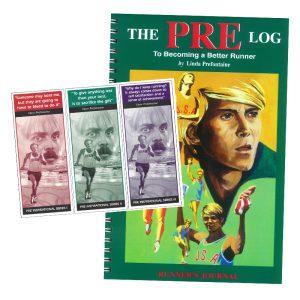 Pre Log – Running Log + 3 Bookmarks