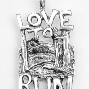 In The Mountains – Sterling Silver Necklace