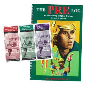 Pre Log – Running Log + 3 Bookmarks